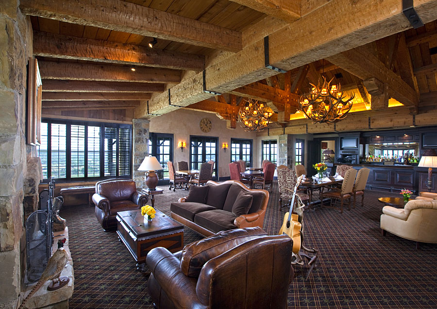 Boot Ranch Marsh Associates Inc Golf Country Club Architects Interior Design