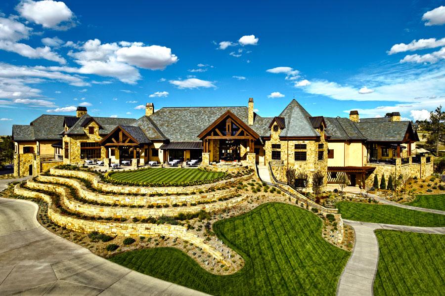 Colorado golf club marsh associates inc golf for Interior home designers in parker co