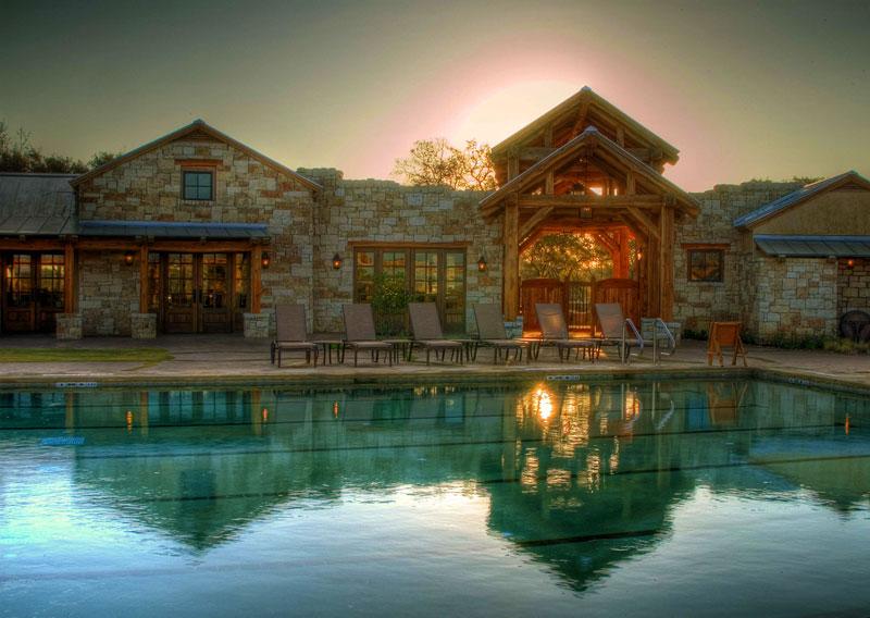 country club architecture design pool complex