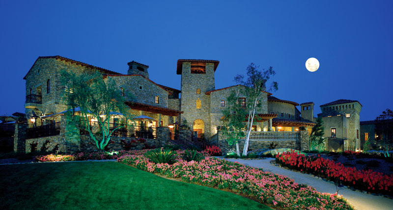 tuscan architecture clubhouse