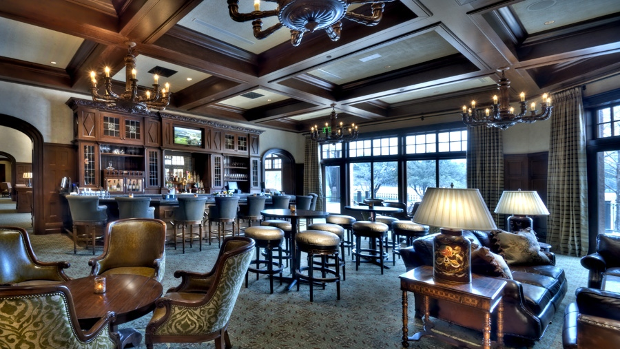 country club locker room lounge interior design