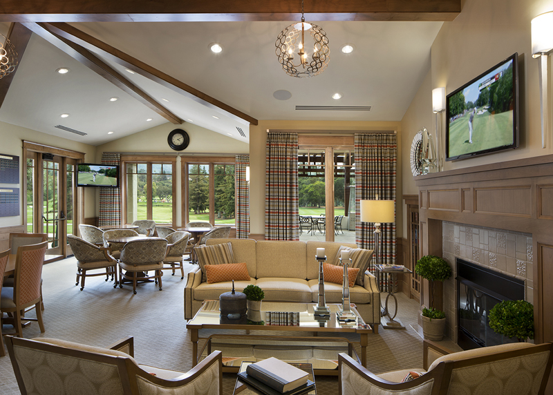 Los altos golf country club marsh associates inc for Interior decoration designs course