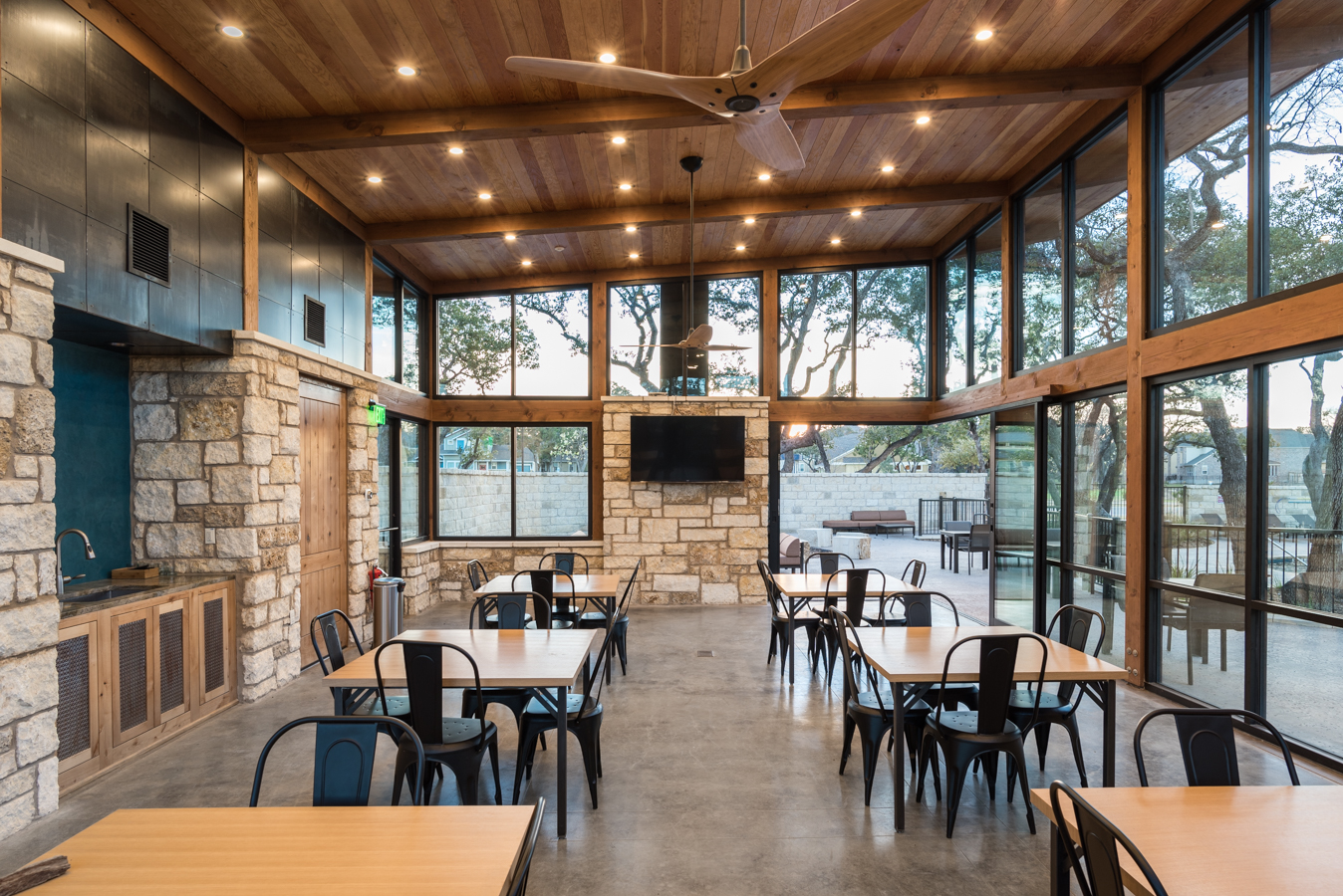 Northwoods at avery ranch marsh associates inc golf country club architects interior Architects and interior designers
